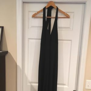 Banana republic halter dress